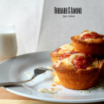 Rhubarb and Almond Tea Cakes