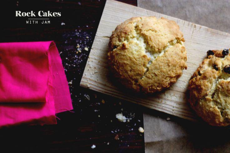 Jelly Cake Recipe Uk: Rock Cakes With Jam