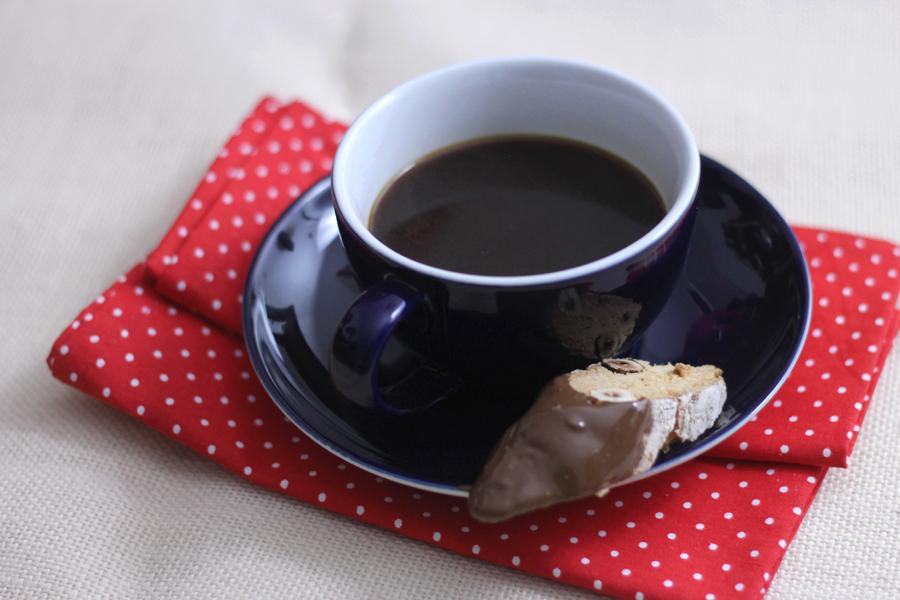 Hazelnut, Cinnamon & Chocolate Biscotti (!!!) -