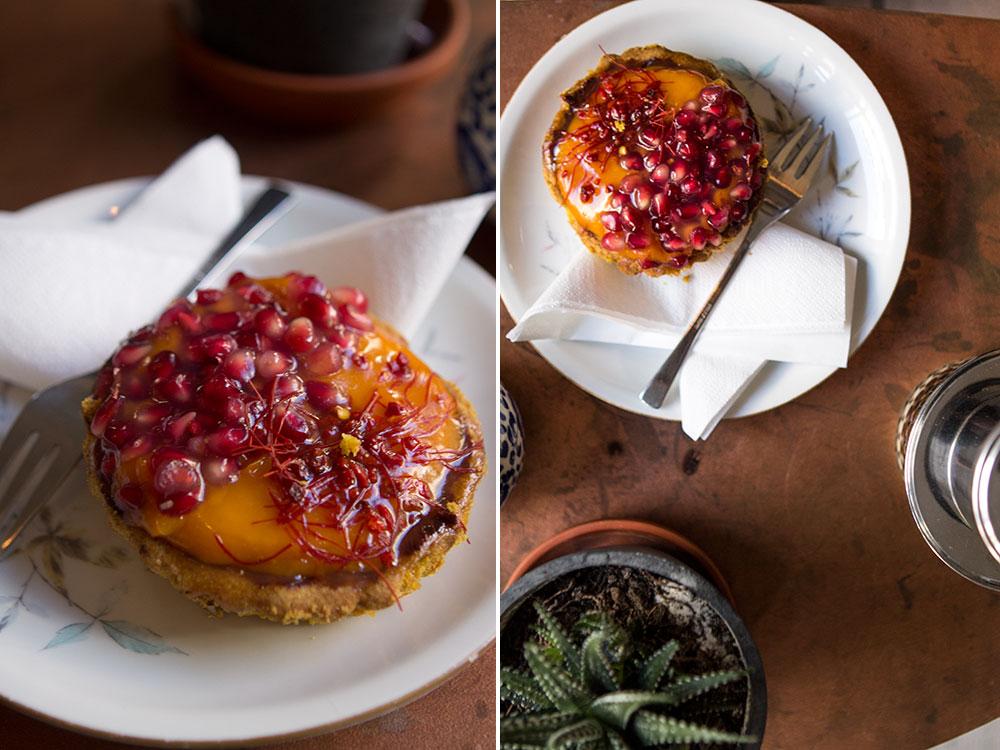 gluten free mango tart | Sugar Thumb