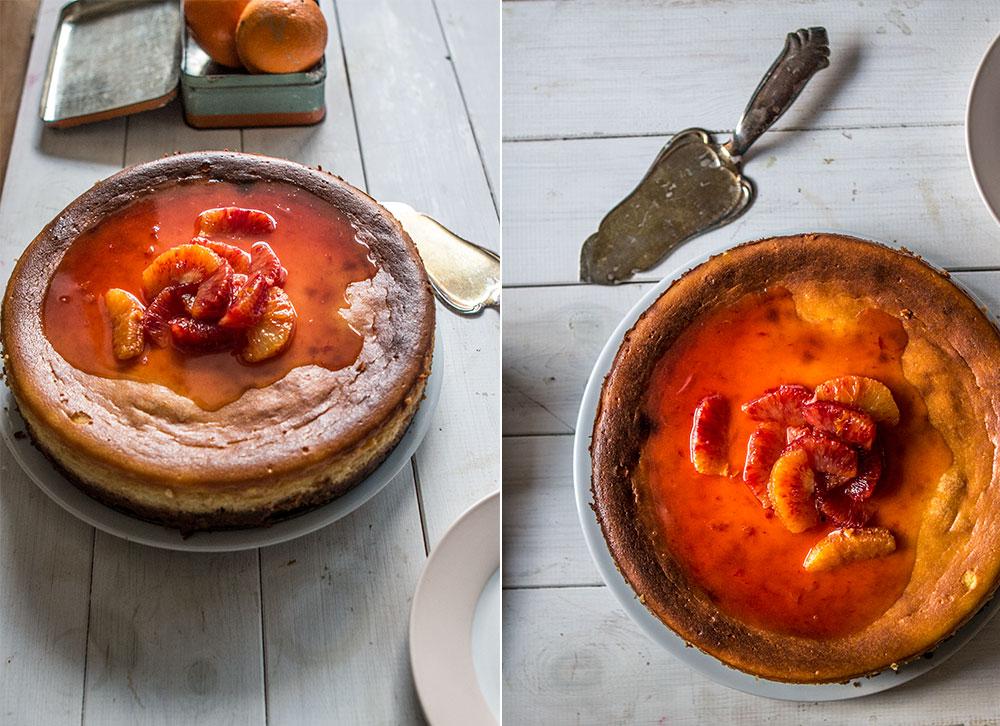orange cheesecake recipe | Sugar Thumb